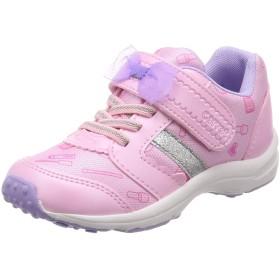 [キャロット] 運動靴 通学履き 15cm~19cm 0.5cm対応 軽量 キッズ CR C2235 ピンク 15 cm 2E