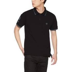 [チャンピオン] ポロシャツ C3-P342 メンズ ブラック 日本 M (日本サイズM相当)