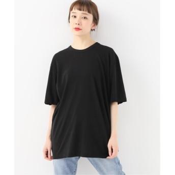 journal standard luxe 【ATON/エイトン】 FRESCA CREW NECK T-SHIRT ブラック 2