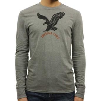 [アメリカンイーグル] AMERICAN EAGLE 正規品 メンズ 長袖Tシャツ AEO Long Sleeve Graphic T-Shirt 0518-2577 L 並行輸入品 (コード:4079020402-4)