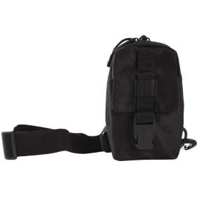 KLUMA チェストパック ワンショルダー 携帯電話用バッグ 斜めがけバッグ ボディバッグ アウトドアスポーツ 軽量 ビジネス アウトドア 自転車 ブラック