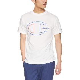 [チャンピオン] Tシャツ C3-PS325 メンズ ホワイト 日本 L (日本サイズL相当)