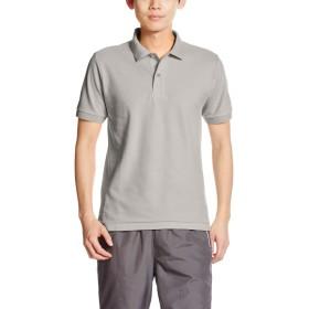 [プリントスター] 半袖 5.8オンス TC 鹿の子 ポロシャツ [ポケット無] 00141-NVP キッズ グレー S (日本サイズS相当)