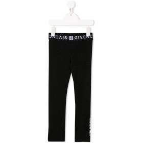 Givenchy Kids ロゴ レギンス - ブラック