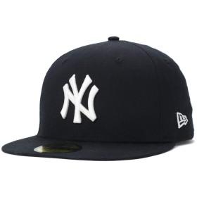 (ニューエラ) NEW ERA キャップ 59FIFTY TYPEWRITER MLB ニューヨークヤンキース ピュアブラック 7 3/8 約58.7cm