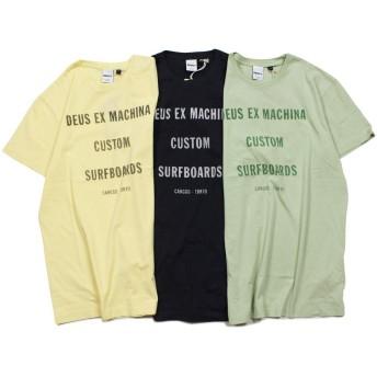 デウスエクスマキナ Tシャツ 半袖 TANNER T SHIRT DMP81661A メンズ ブラック L (並行輸入品)