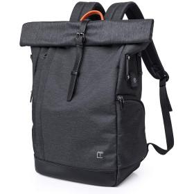 旅行のラップトップのバックパック、Laikwanビジネスバッグ、女性と男性のためのデイパックスクールリュックサック15 '6インチノートブックにフィット(黑)
