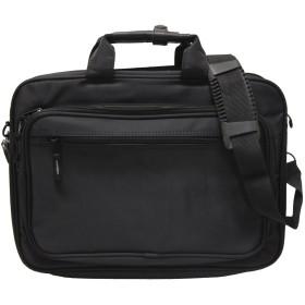 2ウェイ ツイルナイロンビジネスバッグ(パソコン対応 A4サイズ対応)(ショルダーバッグ) ブラック
