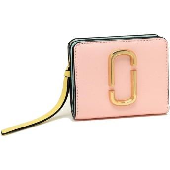 [マークジェイコブス]折財布 レディース MARC JACOBS M0013360 698 ライトピンクマルチ [並行輸入品]