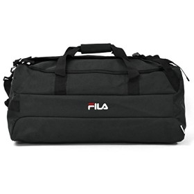 [フィラ] FILA ポリキャンバス 3way ボストンバッグ (BLACK)