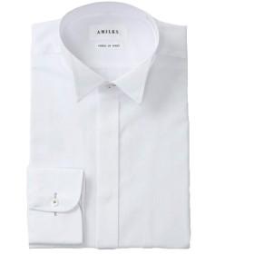 ウイングカラーシャツ【AMILKS】サイズ:M