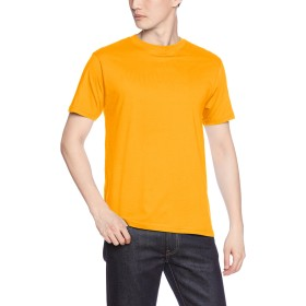 [プリントスター] 半袖 4.0オンス ライト ウェイト Tシャツ 00083-BBT [メンズ] ゴールドイエロー 150cm (日本サイズ150相当)