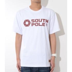 SOUTHPOLE サウスポール Tシャツ 半袖 ベーシックロゴ OFFICIAL LOGO レザーピス ヘヴィーウェイト (11822050) 3XL 01/WHITE