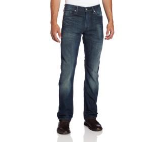 Levi's メンズ 513 スリムストレート ジーンズ US サイズ: 28W x 30L カラー: ブルー