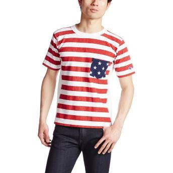 [チャンピオン] リバースウィーブ Tシャツ C3-F310 メンズ ホワイト 日本 L (日本サイズL相当)