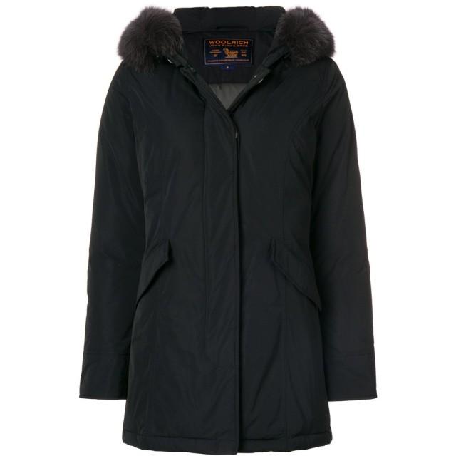 Woolrich パーカーコート - ブラック
