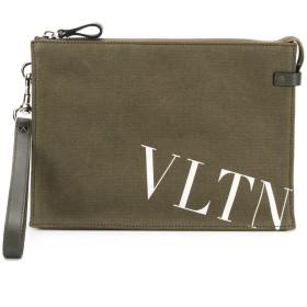 Valentino Valentino Garavani VLTN クラッチバッグ - グリーン