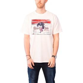 Studiocanal Cross Of Iron Vintage Movie ポスター 新しい 公式 メンズ ホワイト T Shirt Size S
