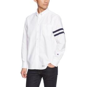 [チャンピオン] ロングスリーブ ボタンダウンシャツ C3-L419 メンズ ホワイト 日本 L (日本サイズL相当)