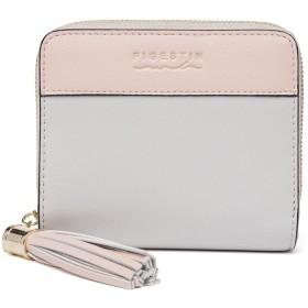 [FIGESTIN]財布 レディース 二つ折り ミニ財布 小銭入れ コインケース 人気 かわいい 軽量 RFID(スキミング)対応