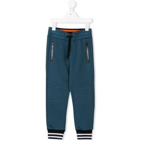 Givenchy Kids ロゴ トラックパンツ - ブルー