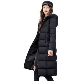 HAPPYJP コート レディース ロング 中綿コート 膝下 秋冬 ゆったり 防寒 防風 大きいサイズ アウター