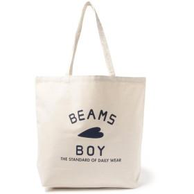 [ビームスボーイ] トートバッグ BB ロゴ TOTE BAG (L)ユニセックス レディース ナチュラル One Size