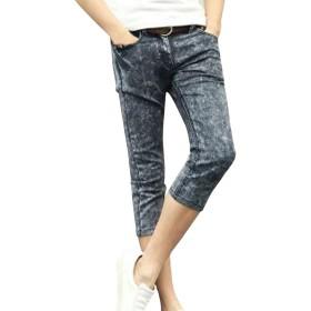 (ネルロッソ) NERLosso ジーンズ 7分丈 ジーパン メンズ デニム パンツ Gパン ズボン ボトムス スキニー ビンテージ 正規品 36サイズ グレー cmy24134-36-gy