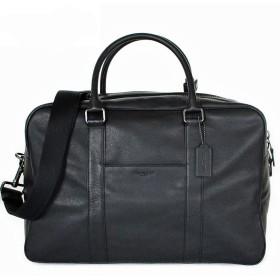 コーチ メンズ バッグ ボストンバッグ アウトレット レザー ビジネスバッグ 2WAY ブラック COACH OVERNIGHT BAG [並行輸入品]