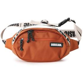 Bubilian Lettering Waist Bag バービリーないウエストポーチ貴重品ポーチ旅行便利グッズ(並行輸入品) (orange)