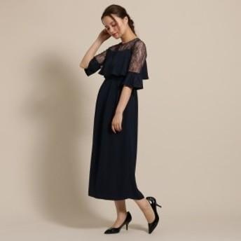 アナトリエ(anatelier)/Dorry Doll(ドリードール)ヨーク袖レースふらしロングドレス