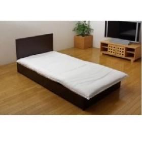 機能性 寝具 『クリーンガード 敷き布団カバー』 アイボリー シングル 105×215cm 乳白色