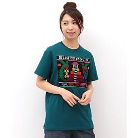 (チチカカ) グアテマラ Tシャツ L ターコイズブルー
