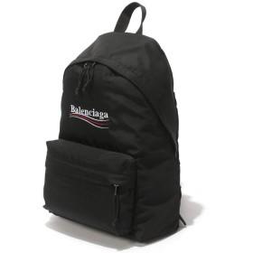 (バレンシアガ) BALENCIAGA ナイロン ロゴ刺繍 エクスプローラー バックパック [BC5032219WB45]ブラック / - [並行輸入品]
