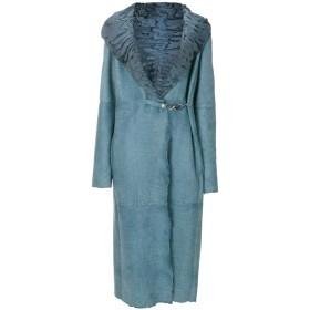 Liska ベルト付き コート - ブルー