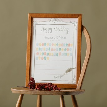 ウェディングツリー「結婚証明書 1」A4 A3サイズ