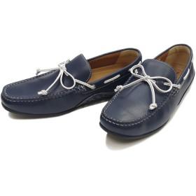 [リーガル] REGAL 靴 ドライビングモカシン 55PR メンズ カジュアルシューズ ネイビー 25.0cm