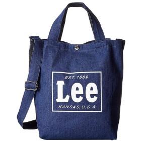 取寄品リー Lee 2WAYトート トートバッグ 手提げ鞄 ショルダーバッグ デニム 0425315 NVY