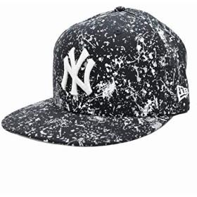 ニューエラ キャップ ◆ NEW ERA 59FIFTY チームカラースプラッシュペイント ニューヨーク・ヤンキース 11781641 メンズ 帽子 ロゴ プルント 8(63.5cm) ネイビー