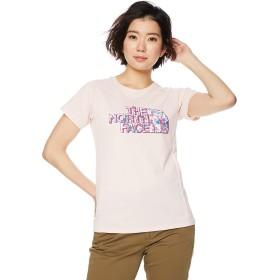[ザ・ノース・フェイス] Tシャツ ショートスリーブGTDロゴクルー レディース ピンクソルト 日本 L (日本サイズL相当)