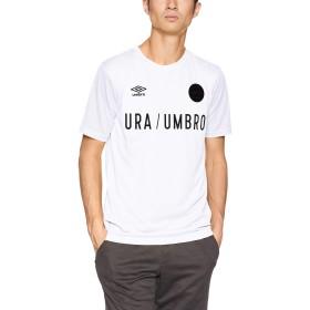 [アンブロ] Tシャツ URA.グラフイツクS/Sシヤツ ホワイト 日本 O (日本サイズXL相当)