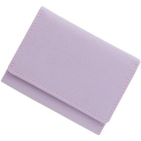 極小財布 ゴートスキン ベーシック型小銭入れ BECKER(ベッカー)日本製 (ラベンダー)