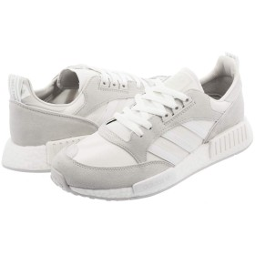 [アディダス] BOSTONSUPER x R1 CLOUD WHITE/RUNNING WHITE/GREY ONE Never Made_在庫_26.5cm