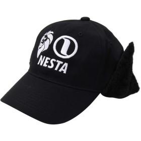 [ネスタ ブランド] NESTA BRAND 帽子 耳あて付き キャップ 183NB8703 ブラック F