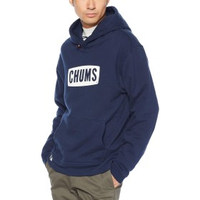 [チャムス] パーカー CHUMS Logo Pull Over Parka Navy 日本 S (日本サイズS相当)