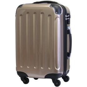 スーツケース 【ダイヤル式ロック付】 機内持込 5780 SSサイズ (シャンパンゴールド) D57-SS-Gold
