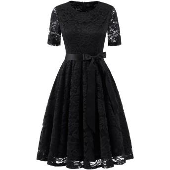 Dresstell ドレステル 半袖レースドレス レディース