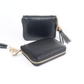 MoRer カードケース クレジットカード入れ 磁気防止 大容量 じゃばら カードホルダー 薄型 名刺 ポイントカード 携帯便利 メンズ レディース (ブラック)