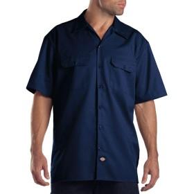 (ディッキーズ)Dickies ワークシャツ 半袖 1574 S ダークネィビー