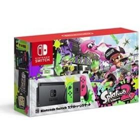 【中古】 Nintendo Switch スプラトゥーン2セット 本体 HAC-S-KACEK / 中古 ゲーム
